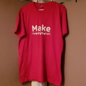 Make Meaning American Apparel Tee sz L